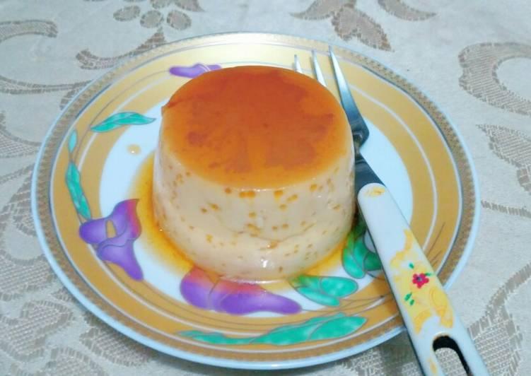 Purin (Japanese Pudding Custard)