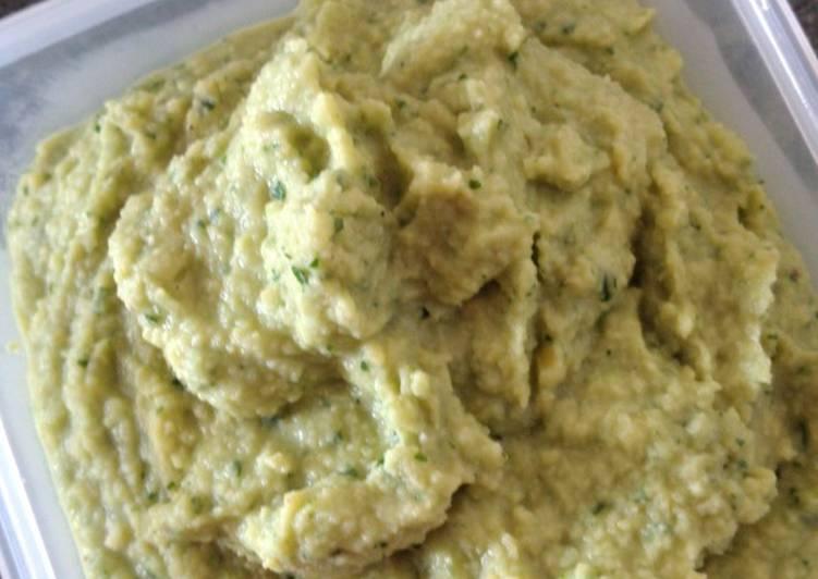 Hummus de cilantro