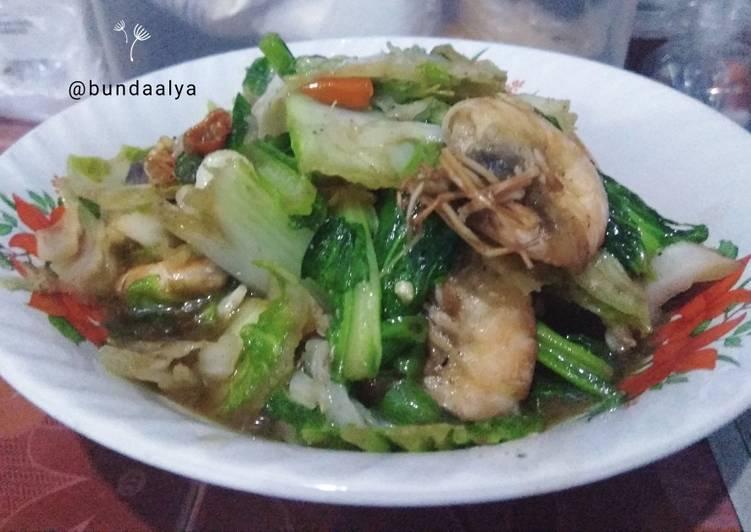 Seafood Capcay Goreng