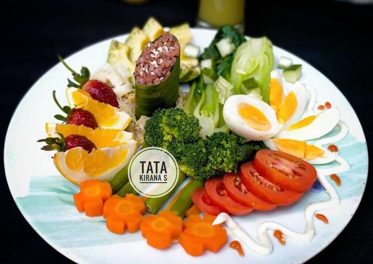 Salad Nusantara (resep menu diet sehat)