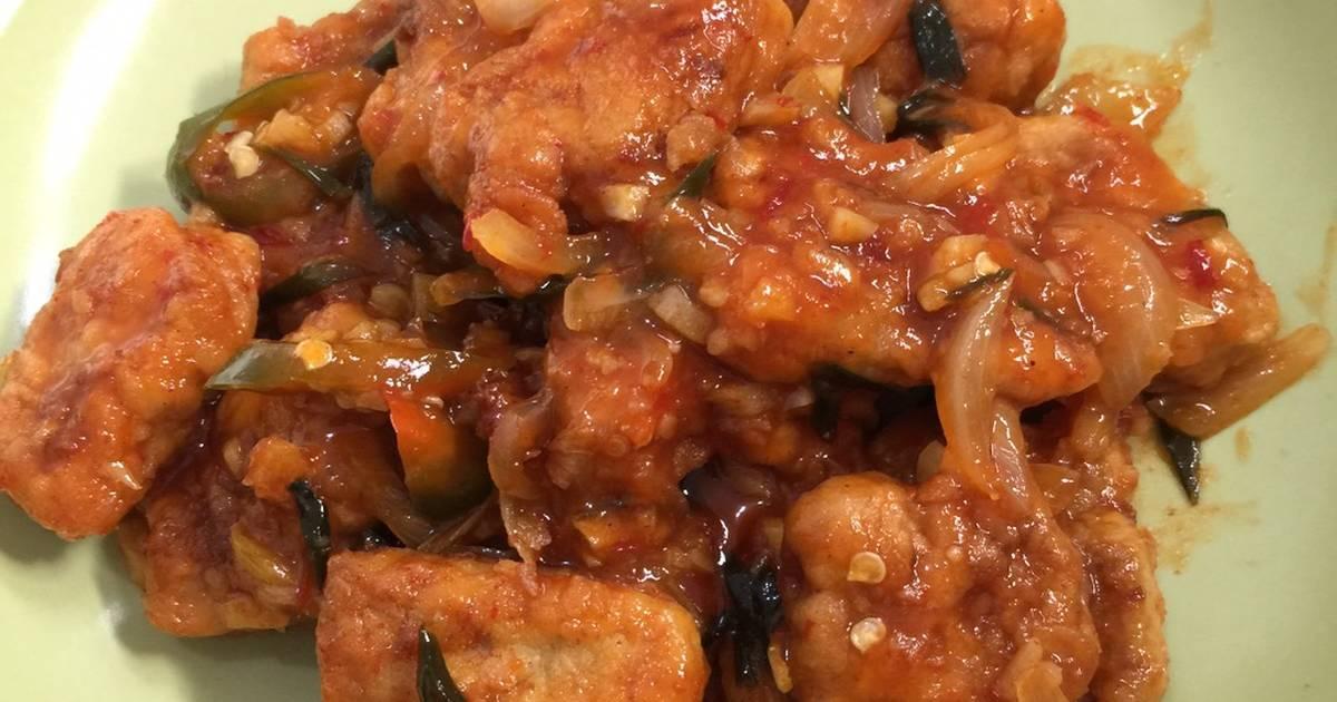 resep ikan tuna asam manis enak  sederhana cookpad Resepi Ikan Kembung Fillet Enak dan Mudah