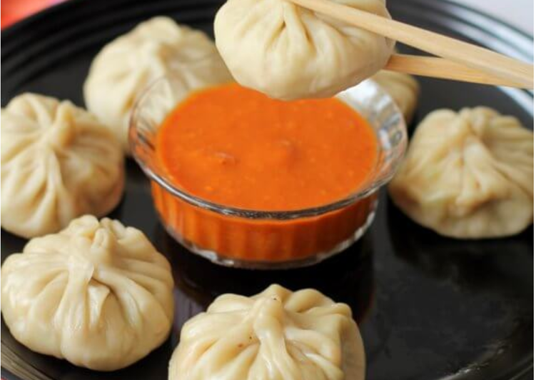 Recipe of Favorite Momos (Chicken filling)