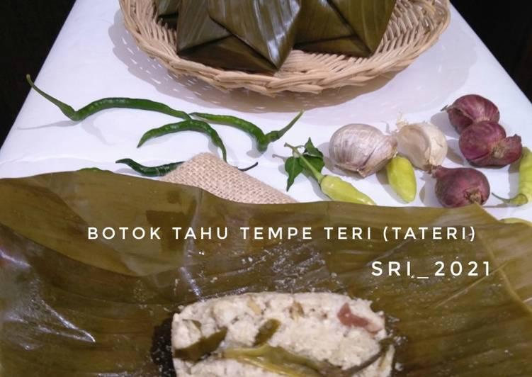 Bothok Tahu Tempe Teri (Tateri)