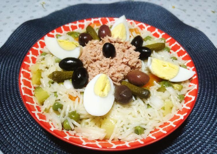 Salade de riz 🍴