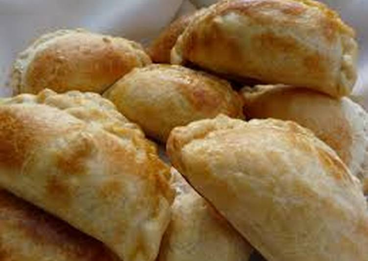 Empanadas dulces de hojaldre