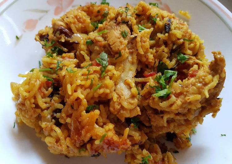 Indian Chicken Pilaf Rice