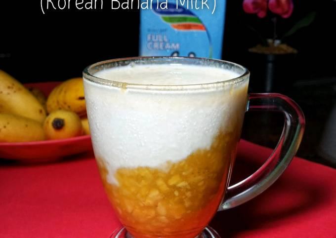 Susu Pisang (Korean Banana Milk)