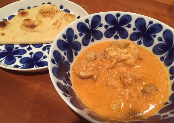 """Recipe: Delicious Authentic Indian """"Butter Chicken Curry"""" バターチキンカレー Gluten Free"""
