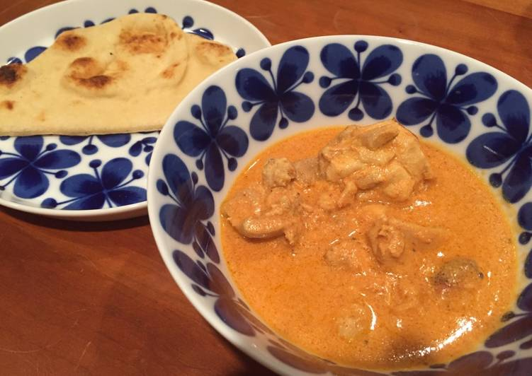 "Recipe of Award-winning Authentic Indian ""Butter Chicken Curry"" バターチキンカレー Gluten Free"