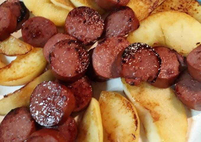 Sausage and Apples