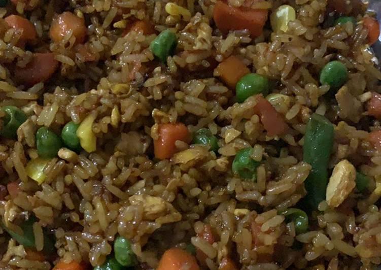 Nasi Goreng Oriental ala Rumahan
