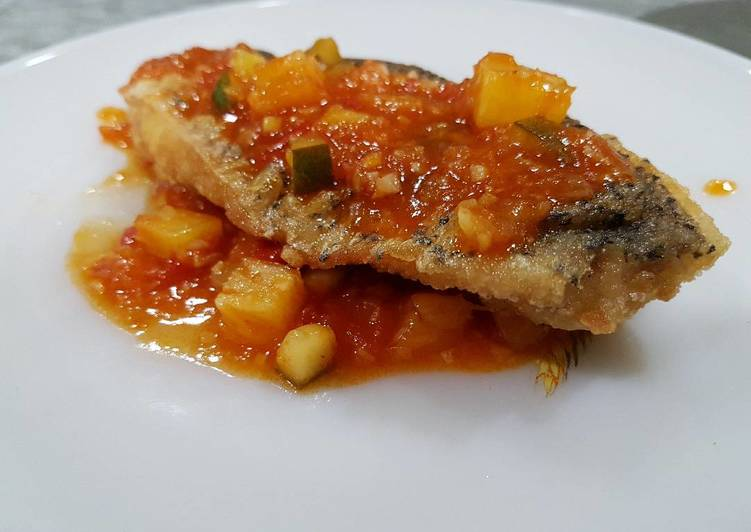Malaysian Sweet and Sour Fish (Masam Manis)