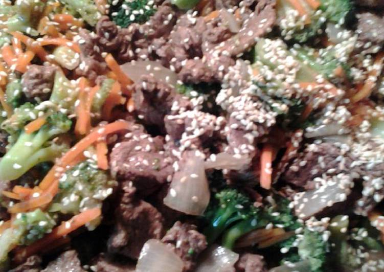 Sesame beef and broccoli, In The Following Paragraphs We're Going To Be Looking At The A Large Amount Of Benefits Of Coconut Oil