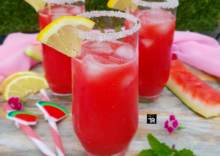 How to Make Yummy Watermelon Smoothie
