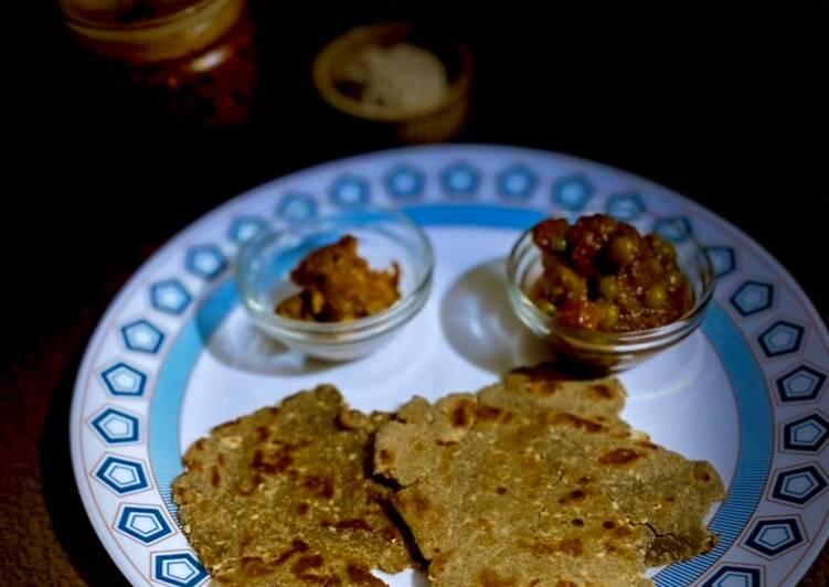 30 Minute Simple Way to Make Any Night Of The Week Gajar Matar ki Sabji, Bajre ki Roti