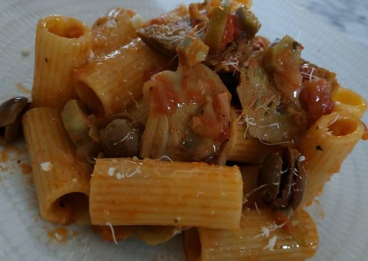 Ricetta Pasta e carciofi