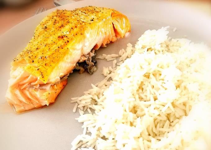 🇫🇷🇬🇧 Pavés de saumon à la Norvégienne PLA011