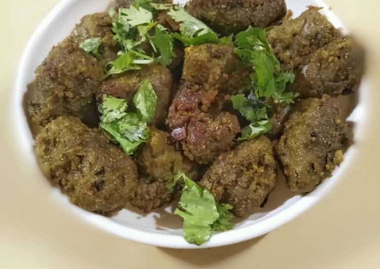 Try Using Food to Boost Your Mood Bajri methi muthia/ pearlmilet fenugreek muthia