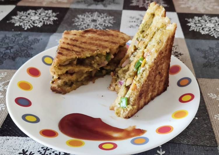 30 Minute Simple Way to Prepare Cooking Cheesy Grill Sandwich