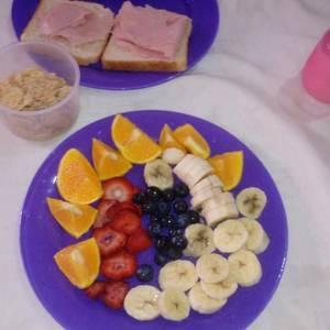 Desayuno saludable para niños y grandes