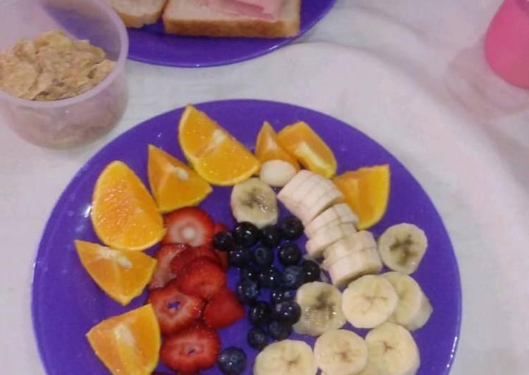 recetas de desayunos saludables para ninos