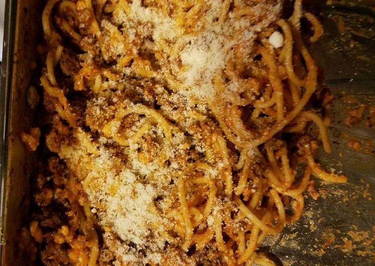 How to Make Appetizing Baked Spaghetti