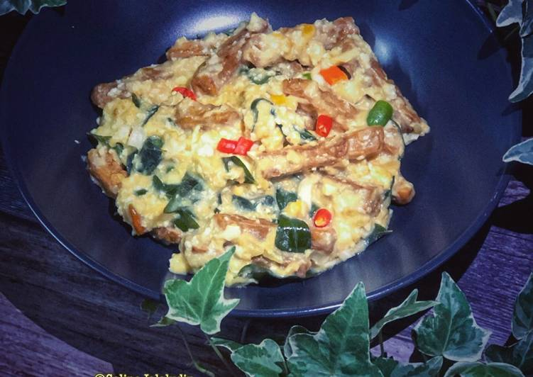Salted Egg Tempe