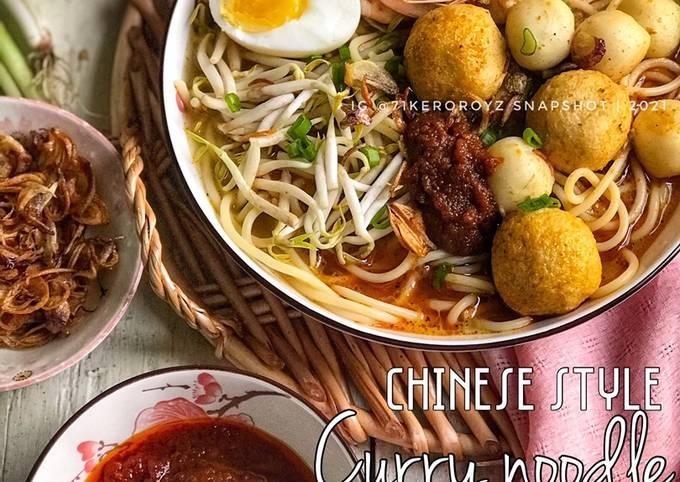 Resep 🍜 MEE KARI ala CHINESE STYLE yang Bisa Manjain Lidah