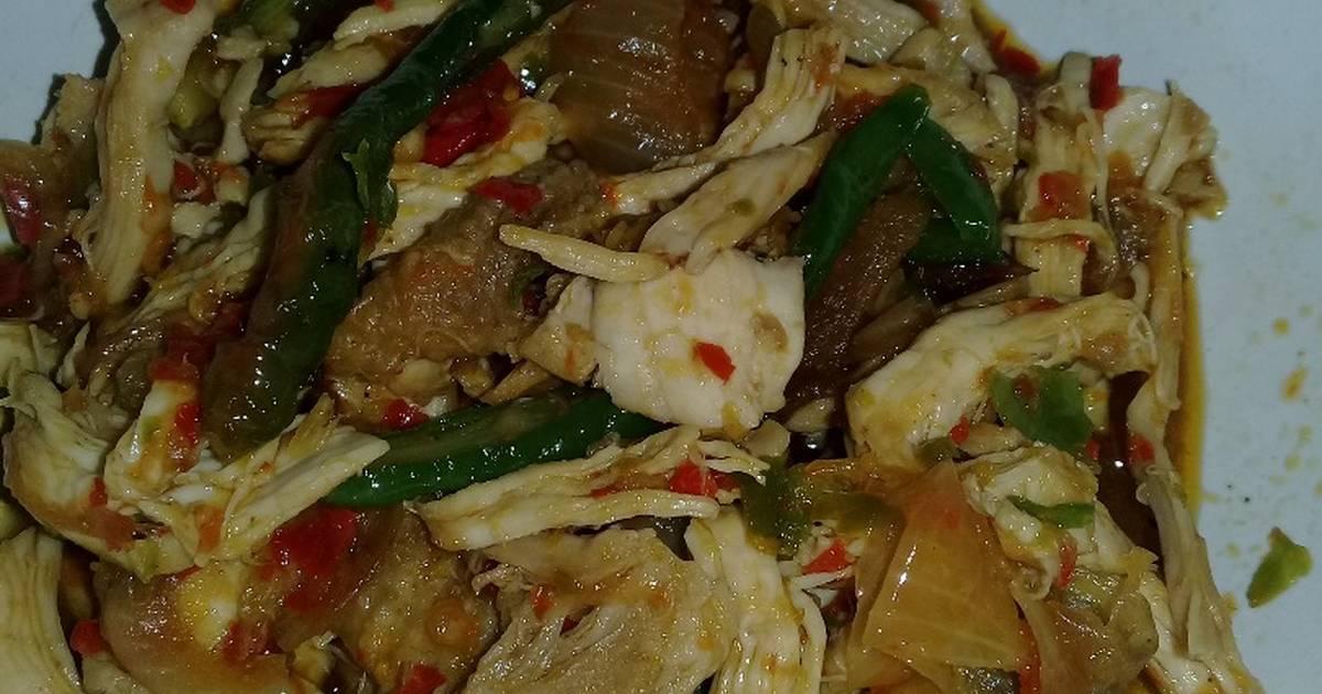 Resep Tumis Ayam Suwir Pedas Manis Oleh Sella Anggraini Cookpad