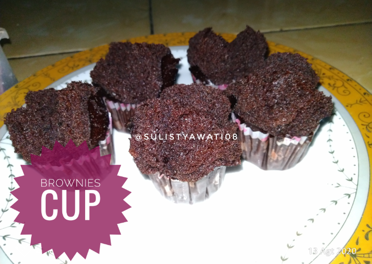 Brownies Cup Nyoklat