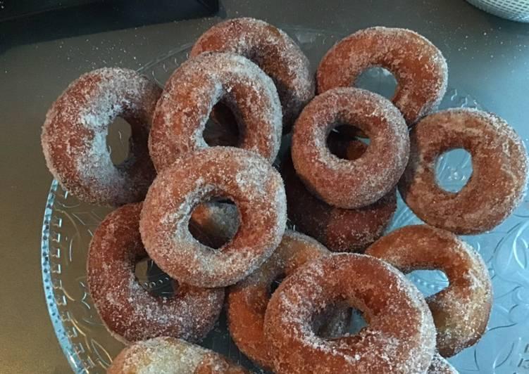 Beignets donuts au citrons