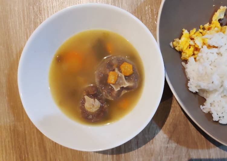 Sop Buntut untuk Balita, enak dan mudah