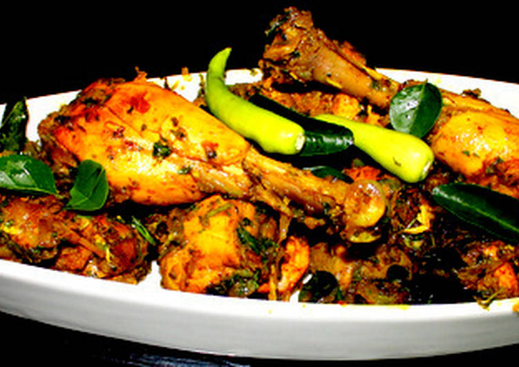 Andhra Chilli Chicken Curry