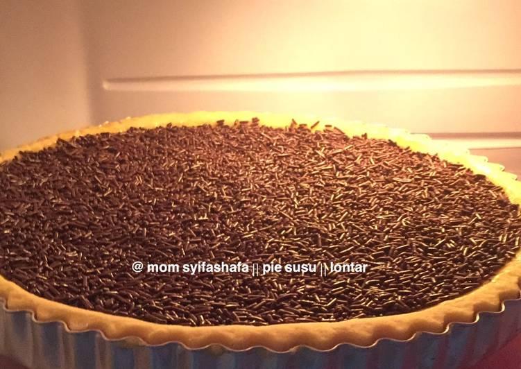 Resep Pie susu / kue lontar Paling Joss
