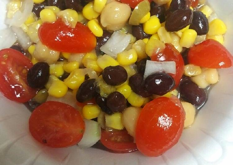 Easiest Way to Make Homemade Black Beans and Corn Salad