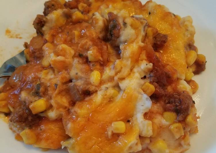 Recipe: Perfect Cheesy Shepard's Pie