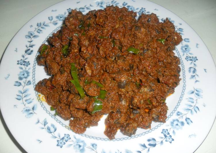 Recipe: Yummy Rendang kerang (Shelled cockles)