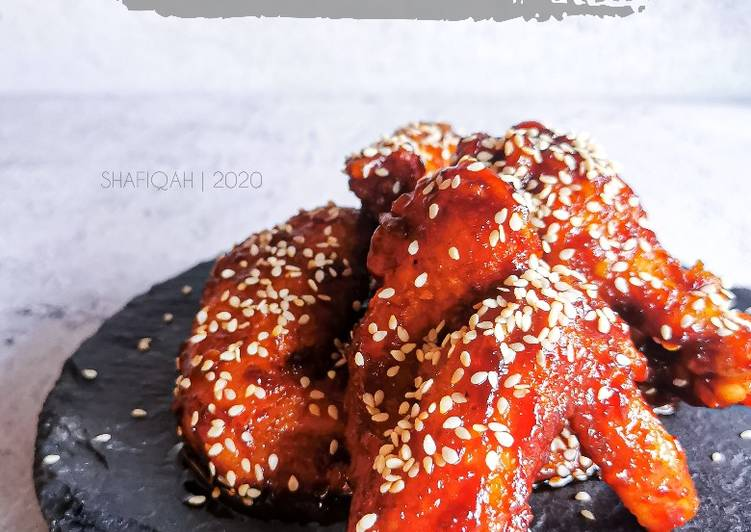 Ayam Korean spicy - velavinkabakery.com