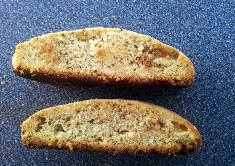 Tea Scented Breakfast Biscotti