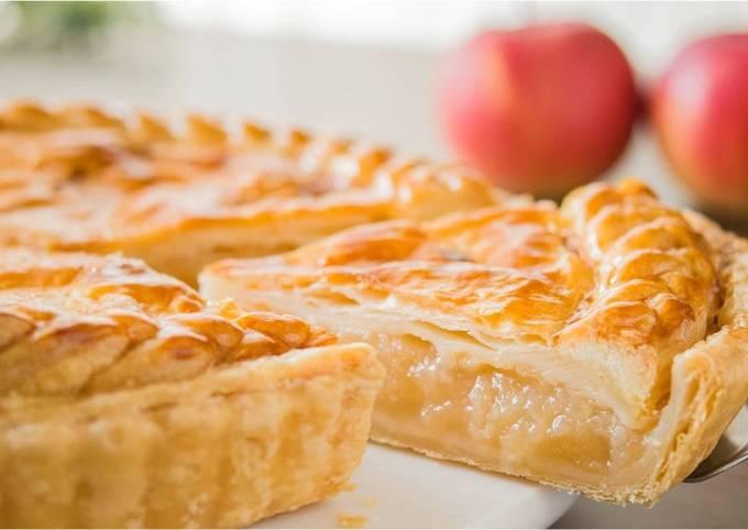 Apple Pie (Puff Pastry Dough)