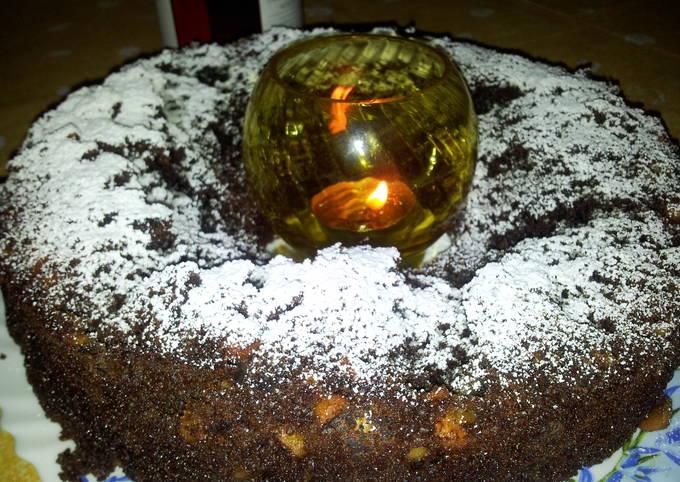 The ChocoNut Donut Cake