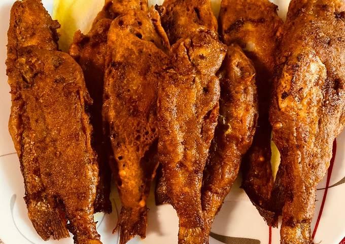 Recipe of Mango fish fry Super Fast