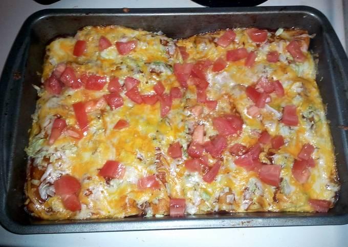Recipe of Tasty Ground Beef enchiladas