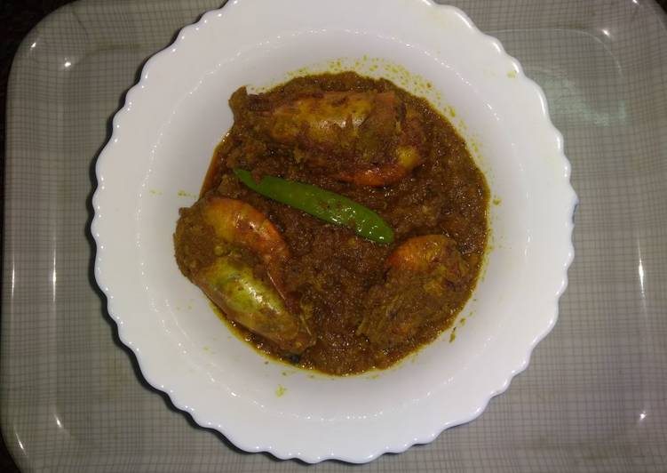 Prawn Malai curry Finding Healthful Fast Food