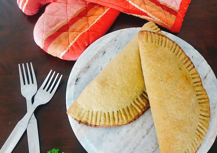 Easiest Way to Prepare Perfect Spinach Chole Calzone