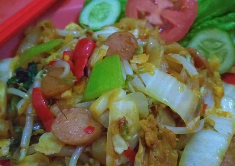 Mie Tiaw Goreng Mantull