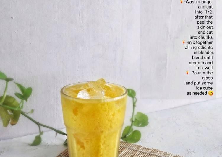 Mango Lassi - resepipouler.com