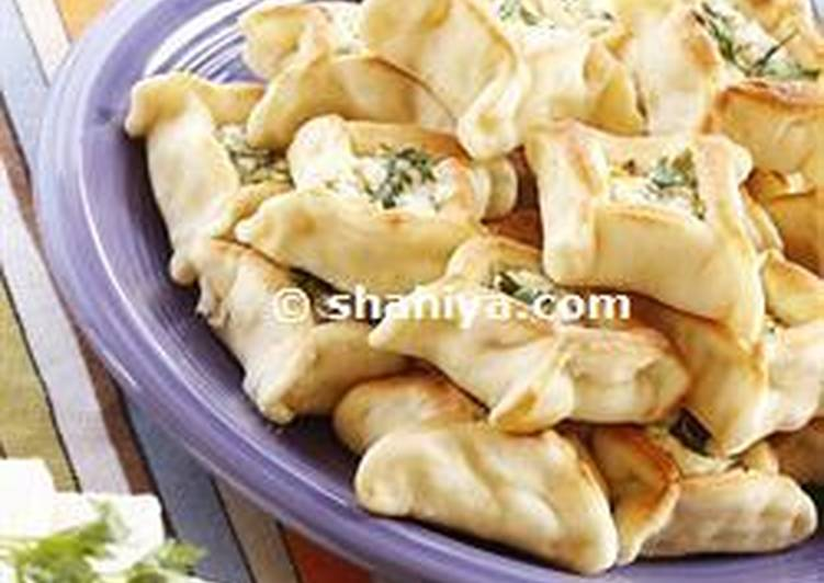 Lebanese cheese sambousek