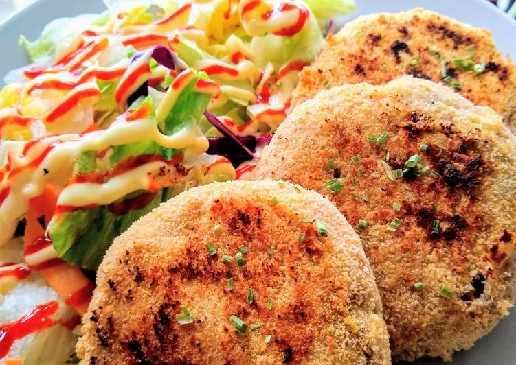 Curried Tuna Fish Cakes