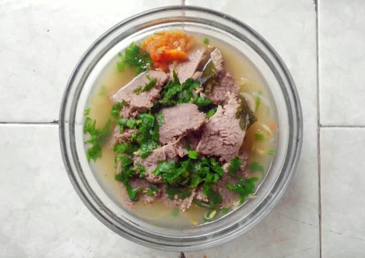 Soto Kuali Khas Solo 303 cals (Food Diet)